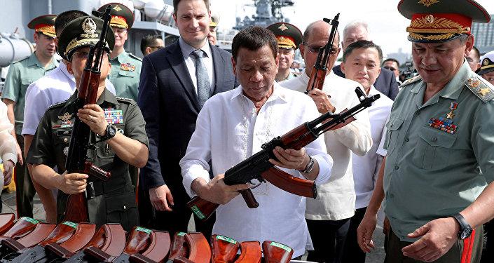 Presidente filipino confiesa haber matado cuando tenía 16 años