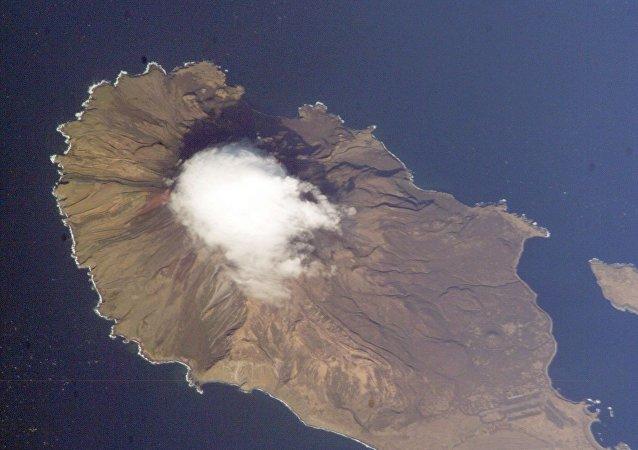 Isla Matua, archipiélago de las Kuriles