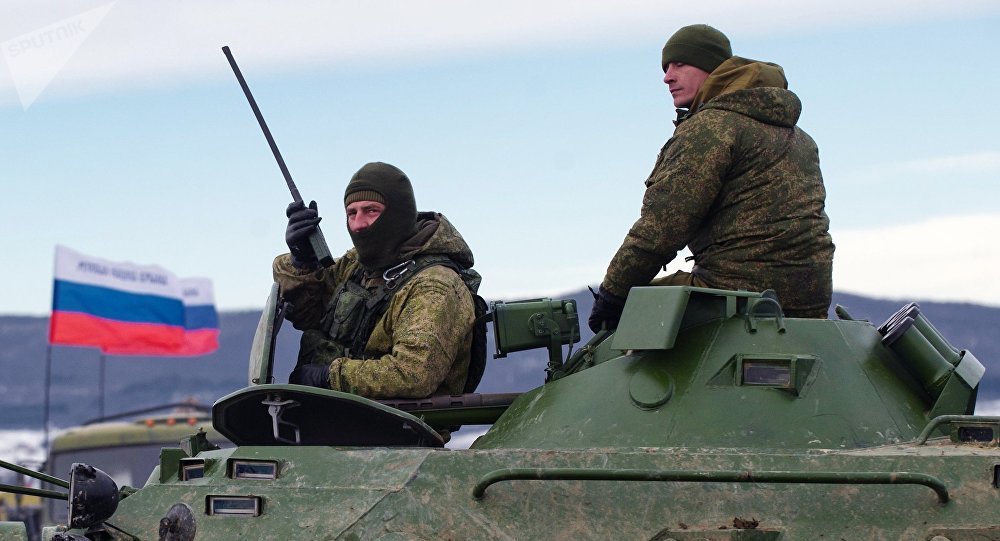 Militares rusos