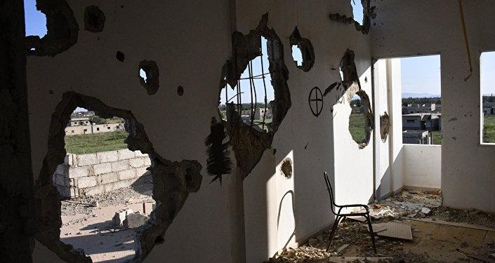 La situación de Guta Oriental en Siria (archivo)