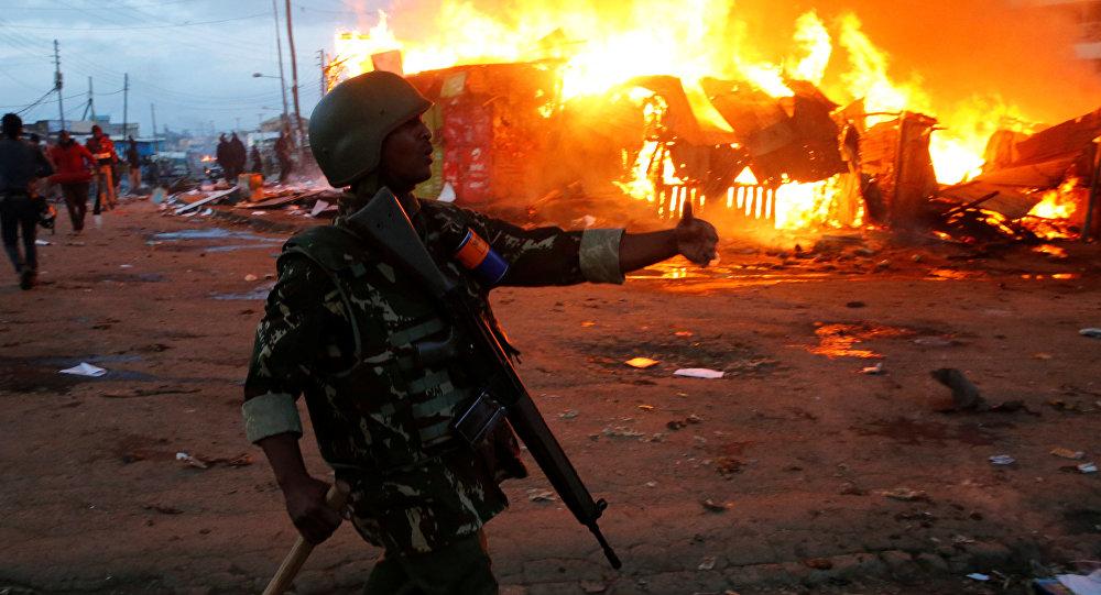 Enfrentamientos entre la policía y oposición en Kenia