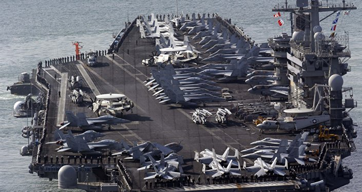 El portaviones estadounidense USS Nimitz (archivo)