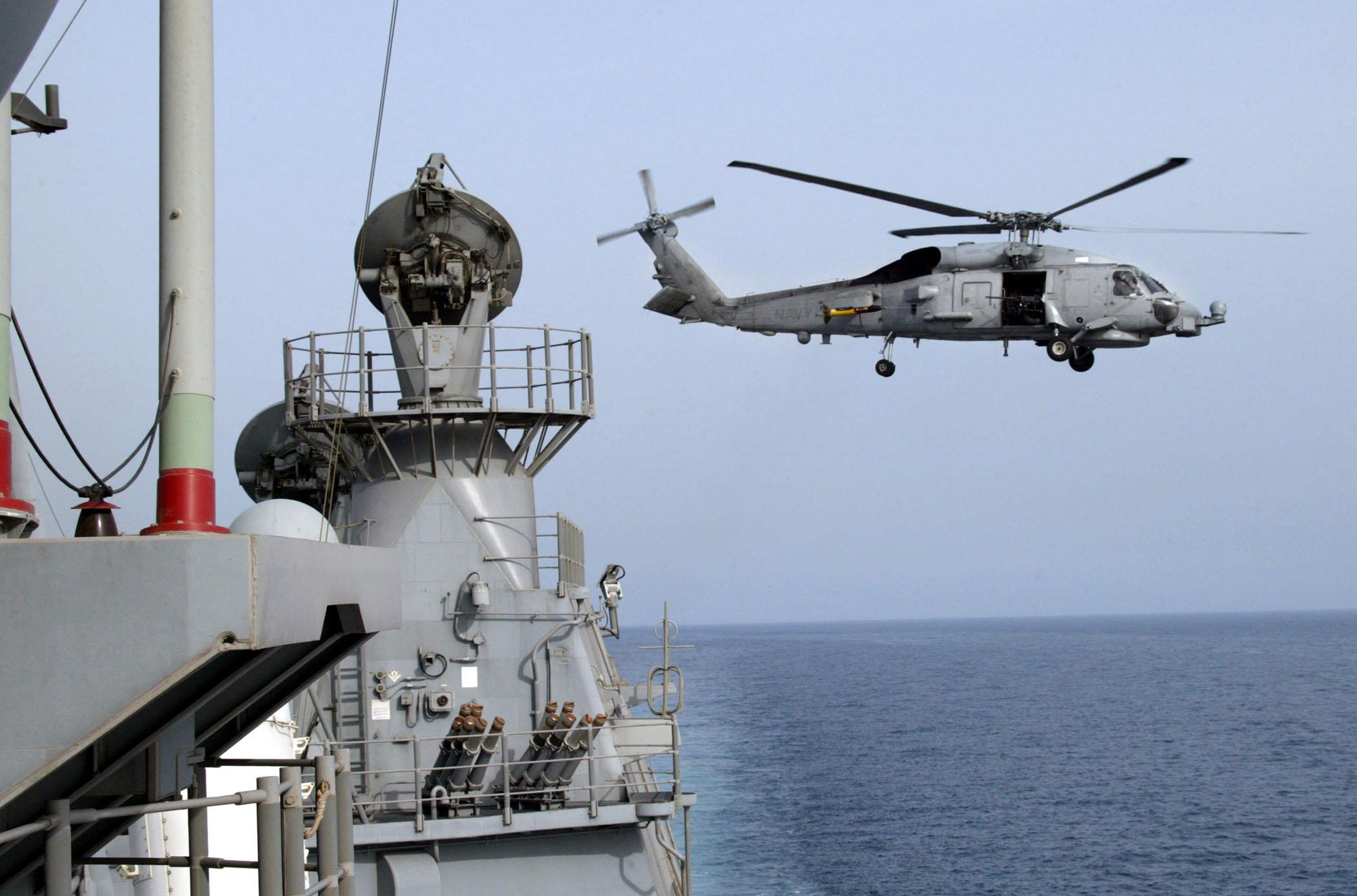 Helicóptero estadounidense SH-60 Seahawk