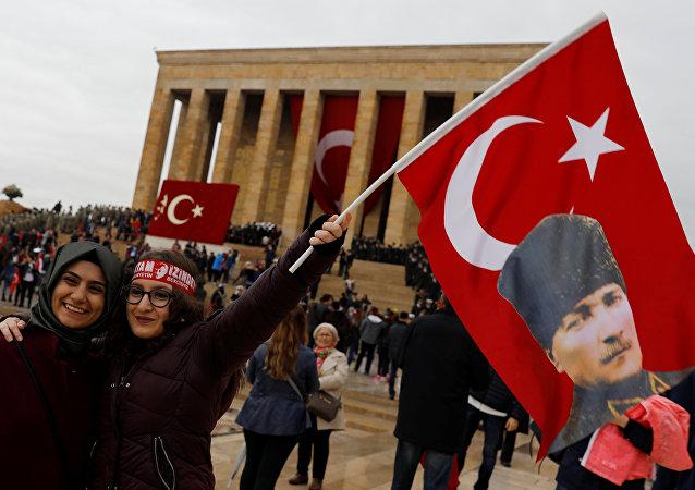 La celebración del aniversario de la proclamación de la República Turca