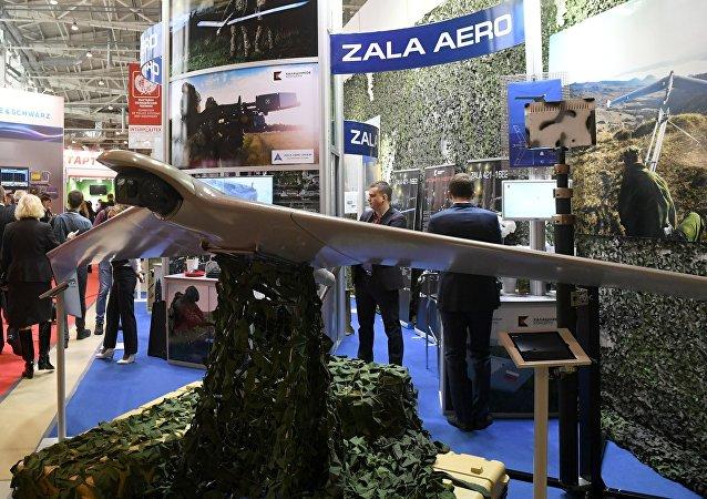 Un dron ZALA del consorcio Kalashnikov
