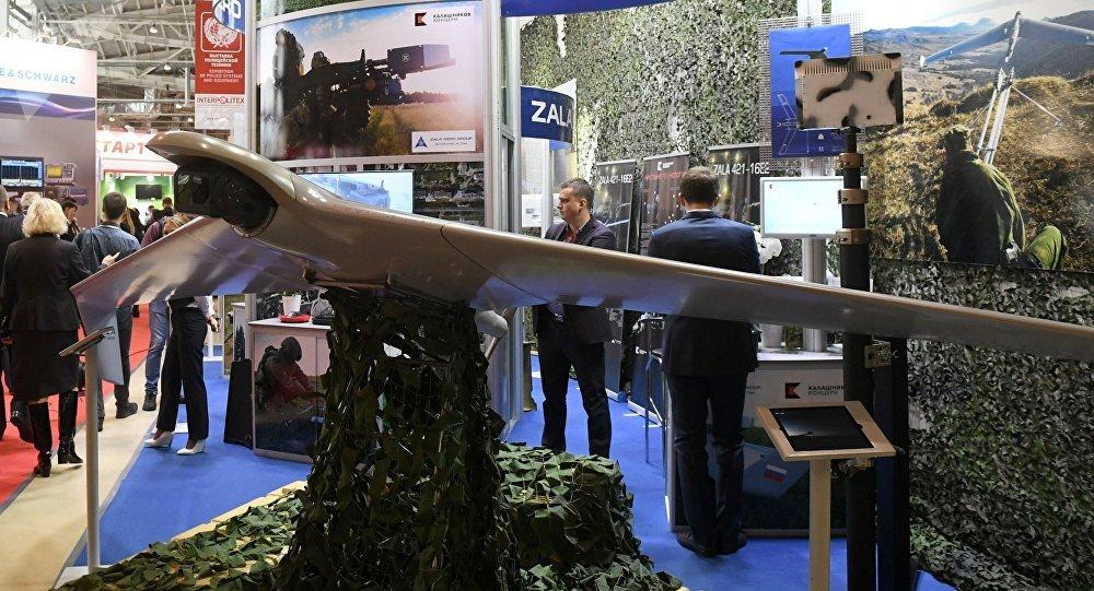 Un dron de Kalashnikov (archivo)