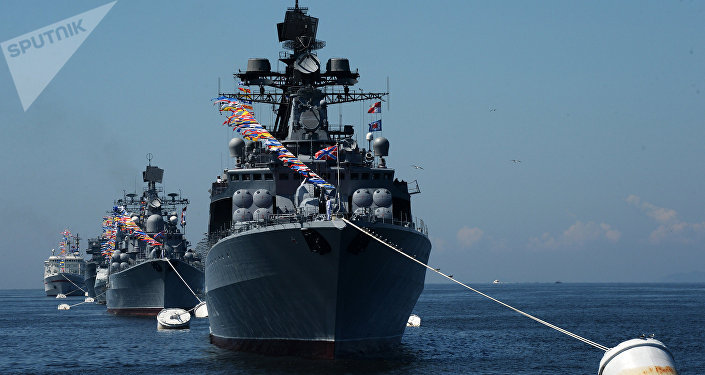 El buque Almirante Vinogradov (archivo)