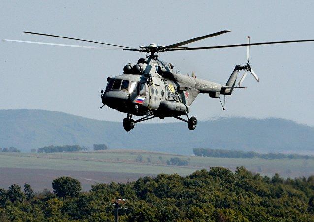 Helicóptero Mi-8 ruso (imagen referencial)