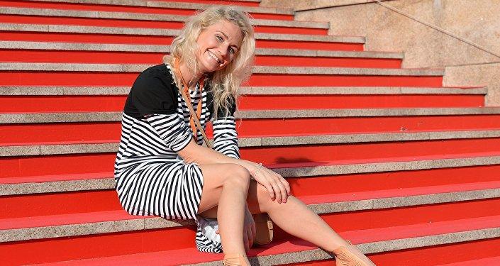 La periodista y defensora de los derechos humanos, Ekaterina Gordón