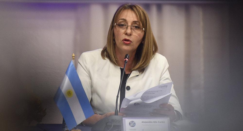 La procuradora general argentina, Alejandra Gils Carbó