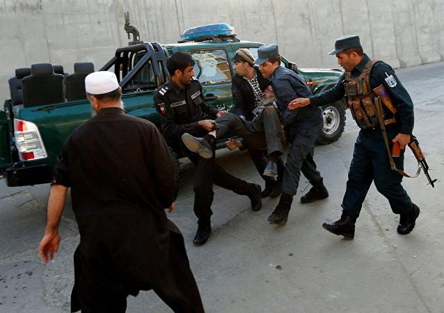 Explosión en el área diplomática de la capital de Afganistán