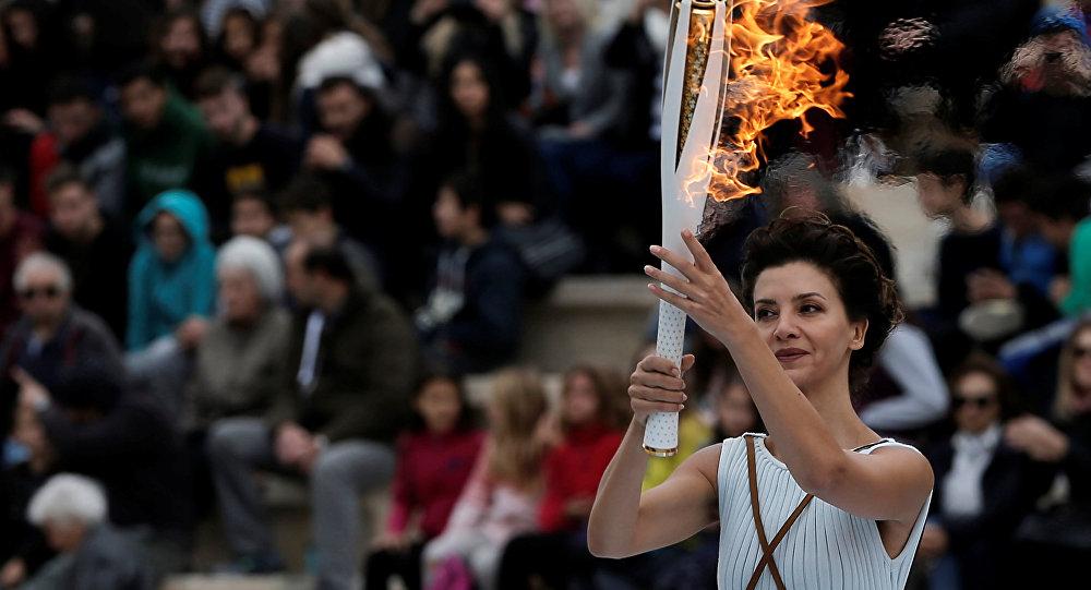La llama olímpica