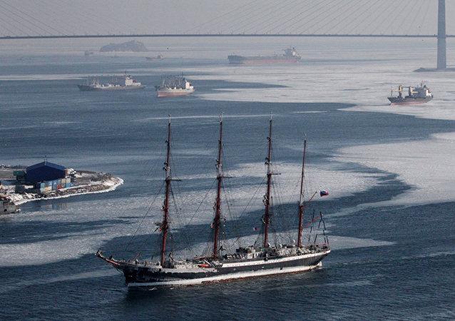 El velero Sedov