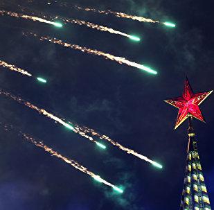 La estrella roja del Kremlin