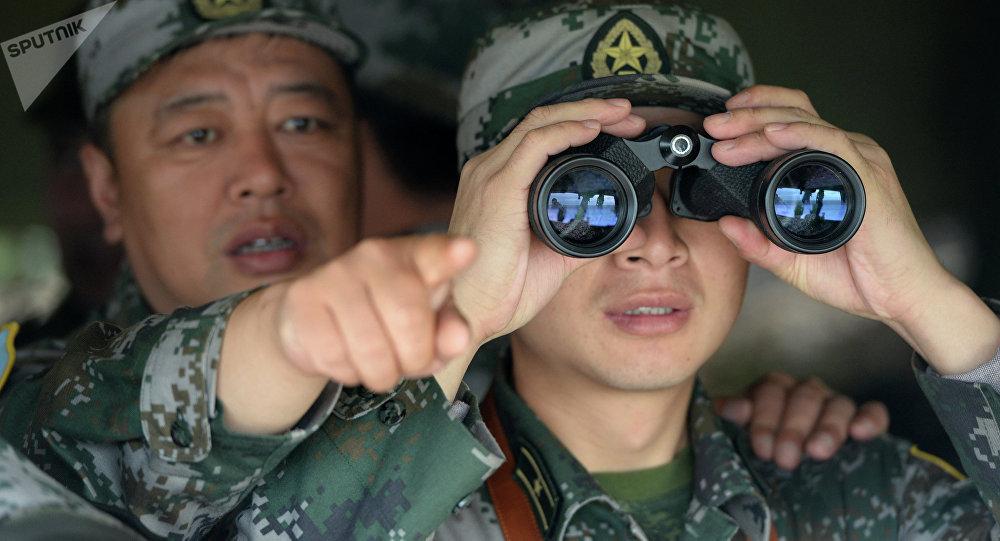 Militares chinos (archivo)