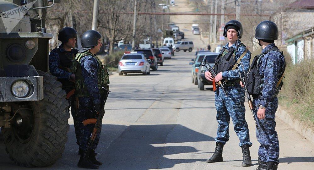 Una operación antiterrorista en Rusia (archivo)
