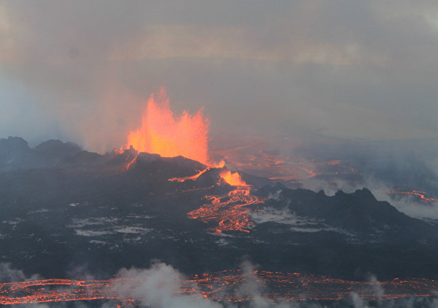 El volcán Bardarbunga