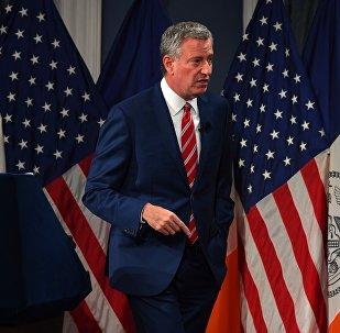Bill de Blasio, el alcalde de Nueva York