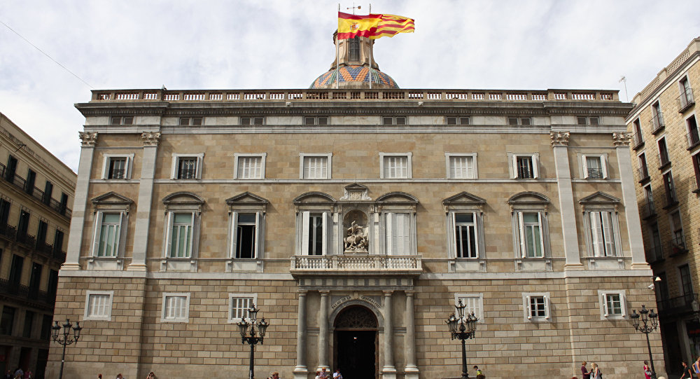 Edificio del Gobierno catalán (archivo)