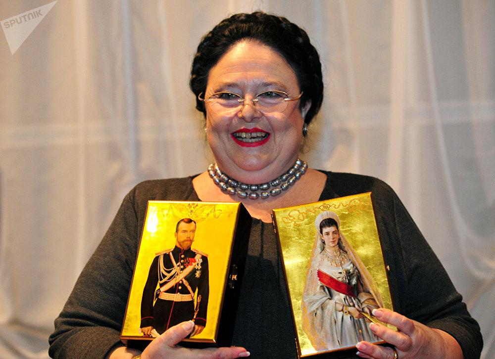 La jefa de la Casa Imperial rusa, María Vladímirovna Románova