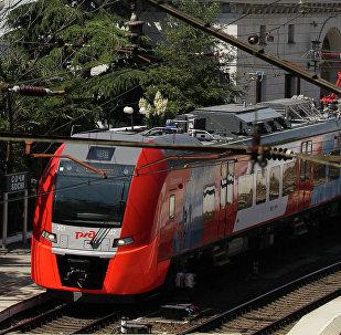 Trenes rápidos Lástochka