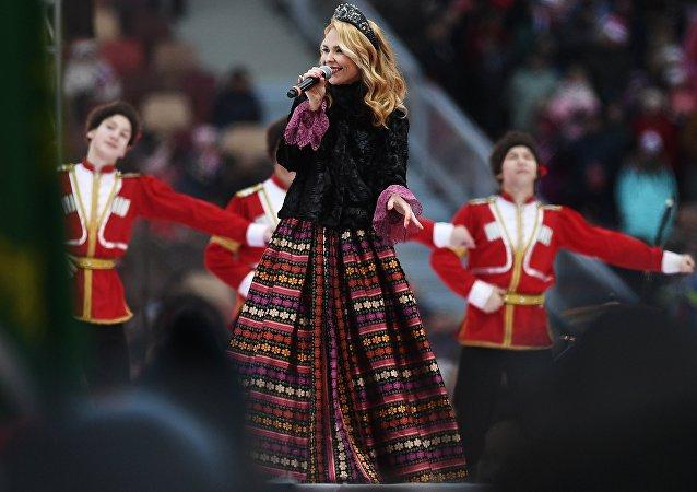 La cantente rusa Pelaguea