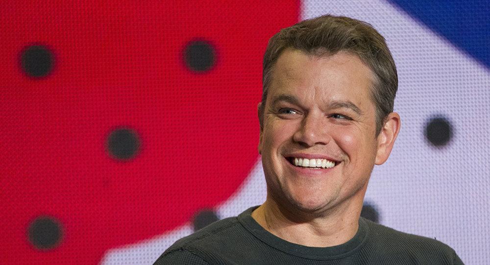 Matt Damon, actor norteamericano (archivo)