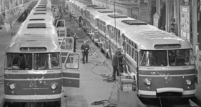 Planta de autobuses LAZ de Lviv