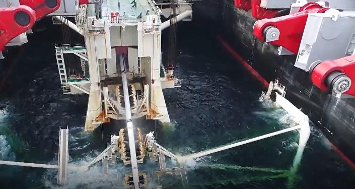 Momento histórico: el Turk Stream 'conquista' territorio turco