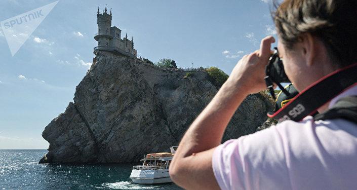 Un turista en Crimea