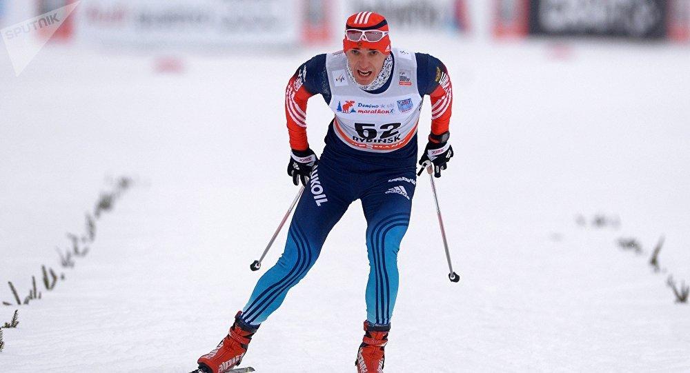 Eugeni Belov, atleta ruso (archivo)