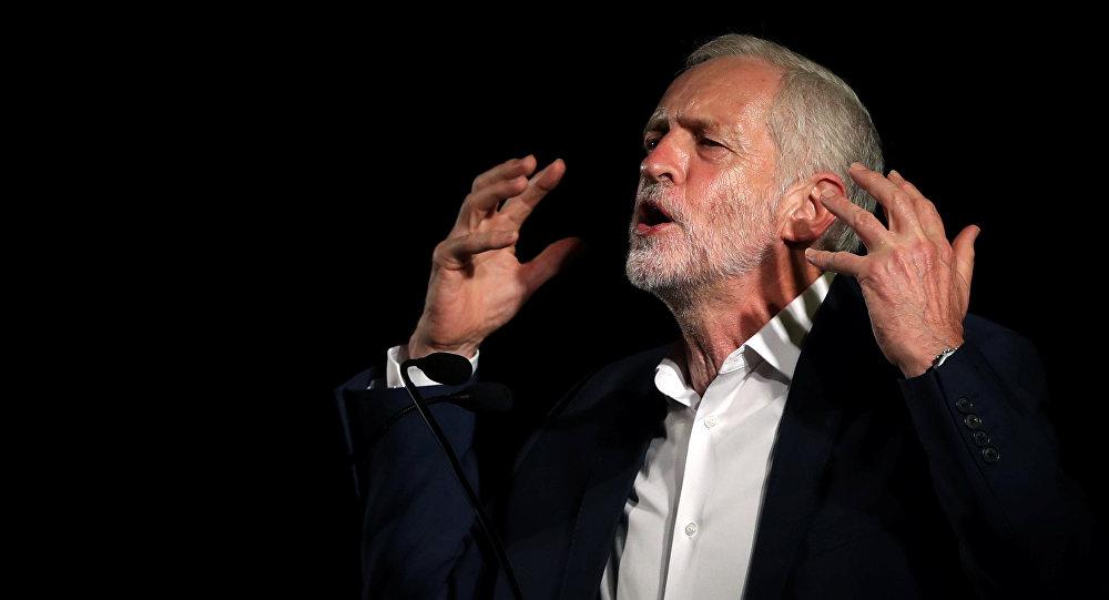 Jeremy Corbyn, el lider del partido laborista en Gran Bretaña, August  25, 2016.