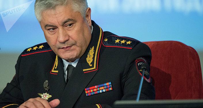 Vladímir Kolokoltsev, ministro del Interior de Rusia