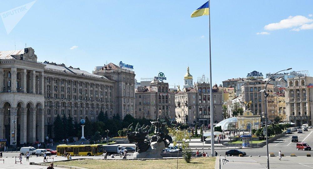 La Plaza de Independencia en Kiev (archivo)