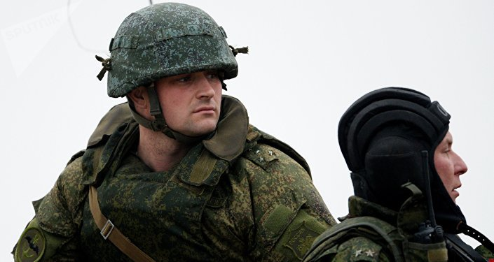 Infantes de marina del Ejército ruso