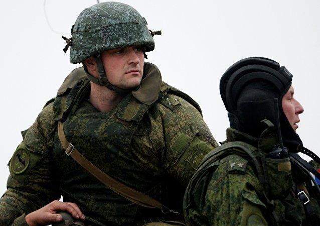 Infantes de marina del Ejército ruso (archivo)
