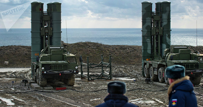S-400 desplegado en Crimea (archivo)
