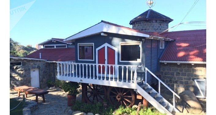 La casa de Pablo Neruda en Isla Negra, Chile.