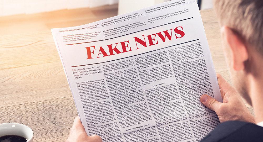 Un periódico de 'fake news' (imagen ilustrativa)