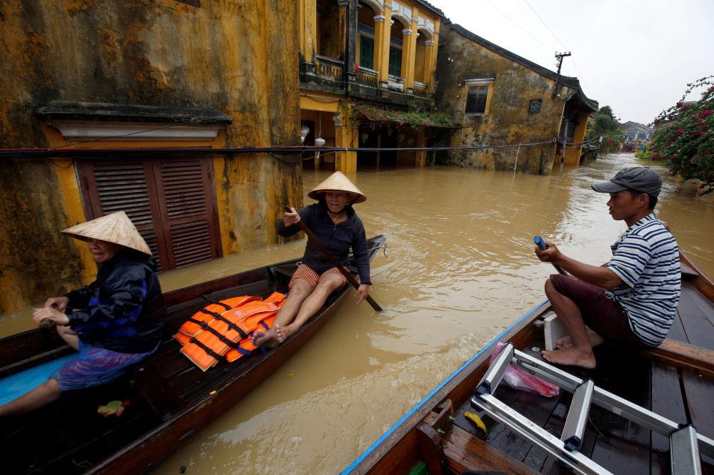 Las consecuencias desastrosas de un tifón en Vietnam
