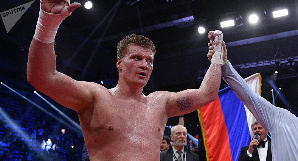 Alexandr Povetkin, boxeador ruso