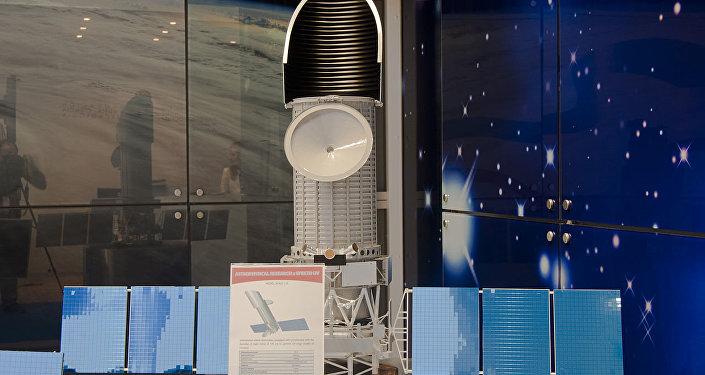 Modelo del observatorio espacial Spectrum-UV