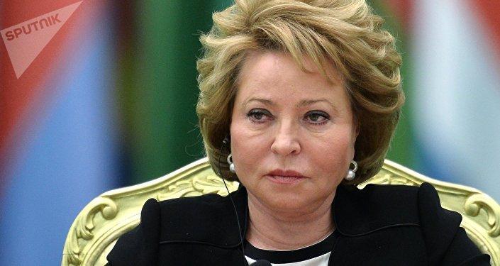 Valentina Matvienko, jefa del Senado de Rusia