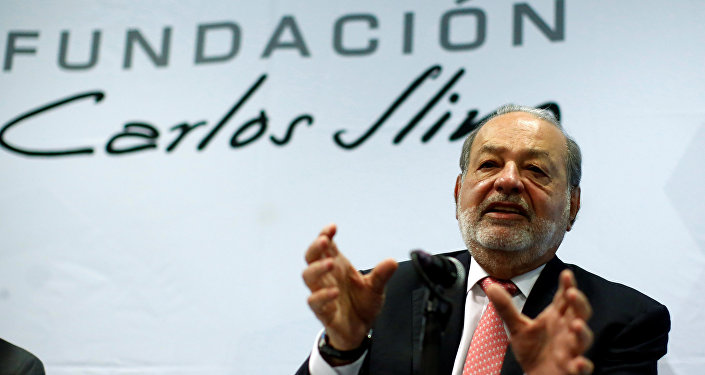 Carlos Slim, magnate mexicano