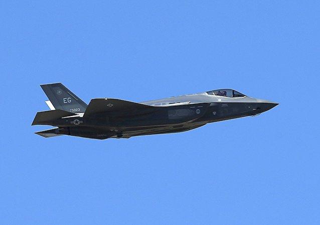 El caza de EEUU F-35A