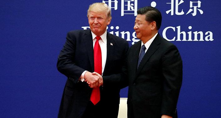 El presidente de EEUU, Donald Trump, y su homólogo chino, Xi Jinping