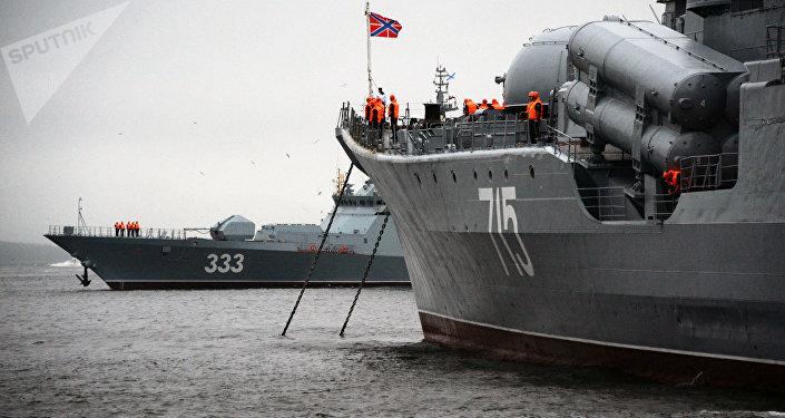 Buques de la Armada de Rusia
