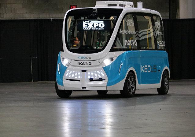 Un autobús no tripulado (imagen ilustrativa)