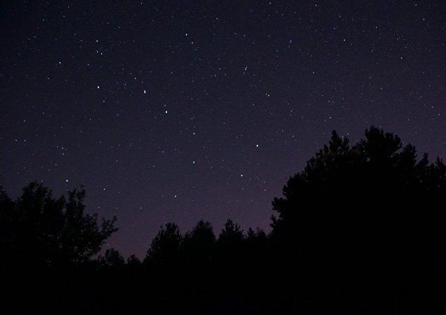 La constelación de Osa Mayor en el cielo nocturno