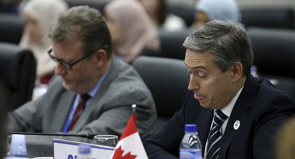 Francois-Philippe Champagne, ministro de Comercio de Canadá